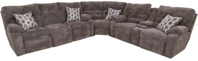 Franklin Tribute 3-Piece Power Headrest Sectional