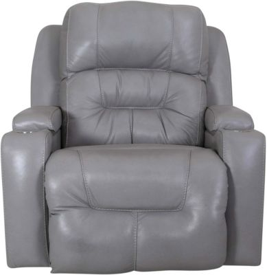 Sensational Franklin Commander Leather Power Rocker Recliner Dailytribune Chair Design For Home Dailytribuneorg