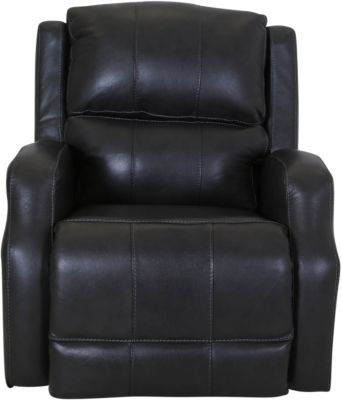 Franklin Vibes Gray Leather Lift Recliner