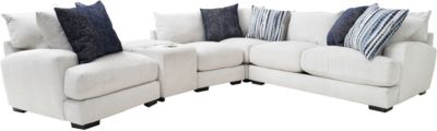 Franklin Hylant 5-Piece Sectional Loveseat