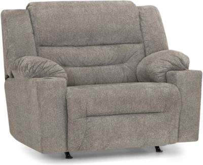 Franklin Master Gray Power Rocker Recliner