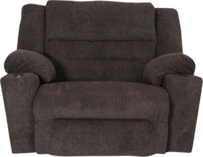 Franklin Master Brown Power Rocker Recliner