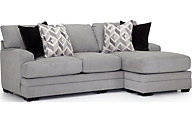 Franklin Cleo Sofa with Reversible Chaise