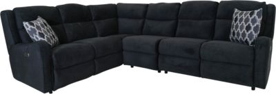 Franklin Theory 4-Piece Power Motion Sectional