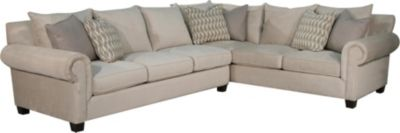 Fairmont Designs Addison Cream 2-Piece Sectional