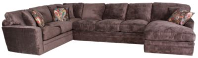 Fairmont Designs Palms Right-Side Chaise 3-Piece Brown Sectional