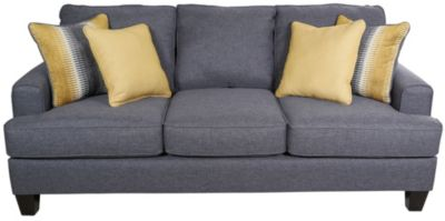 Fusion Maxwell Gray Sofa Homemakers Furniture - Maxwell sofa