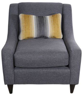 Fusion Maxwell Gray Accent Chair