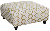 Fusion Cash Citrine Cocktail Ottoman