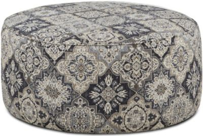Fusion Whitaker Round Cocktail Ottoman