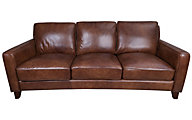 Futura 10052 Collection 100% Leather Sofa