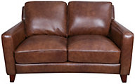 Futura 10052 Collection 100% Leather Loveseat