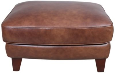 Futura 10052 Collection 100% Leather Ottoman