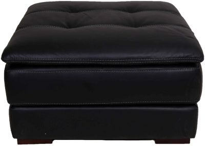 Superb Futura 10302 Collection Black Leather Storage Ottoman Gamerscity Chair Design For Home Gamerscityorg