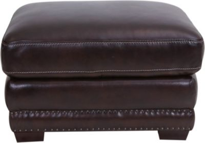 Futura 10030 Collection 100% Leather Ottoman