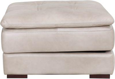 Stupendous Futura 10302 Collection Pebble 100 Leather Ottoman Creativecarmelina Interior Chair Design Creativecarmelinacom