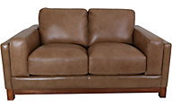 Futura 10213 Collection 100% Leather Loveseat