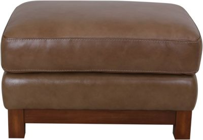 Futura 10213 Collection 100% Leather Ottoman
