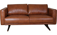 Futura 10046 Collection 100% Leather Loveseat