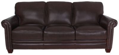 Futura 7888 Collection 100 Leather Sofa