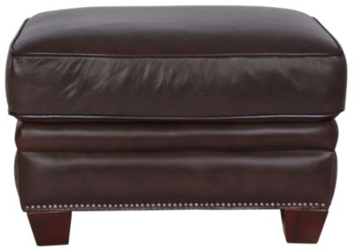 Futura 7888 Collection 100% Leather Ottoman