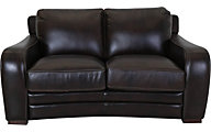 Futura 10409F Collection 100% Leather Loveseat