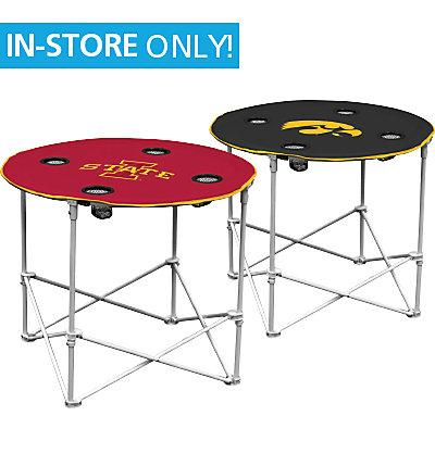 Cyclone or Hawkeye Folding Tailgate Table