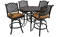 Gather Craft Castle Rock 5-Piece Bar-Height Outdoor Dining Set