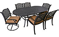 Gather Craft Castle Rock 7-Piece Outdoor Dining Set