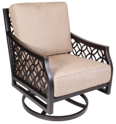 Agio Manchester Outdoor Swivel Rocker Chair