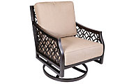 Agio Manchester Outdoor Swivel Rocker Chair