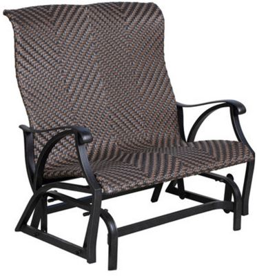Strange Gather Craft Castle Rock Outdoor Glider Bench Gmtry Best Dining Table And Chair Ideas Images Gmtryco