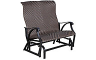 Gather Craft Castle Rock Outdoor Glider Bench