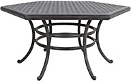Gather Craft Macan Hexagon Dining Table