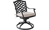 Gather Craft Halston Swivel Chair with Cushion