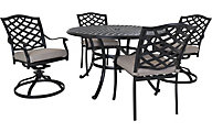 Gather Craft Halston 5-Piece Dining Set