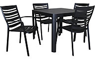 Gather Craft IKAST Table with 4 Chairs