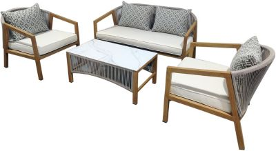 Gather Craft Chelsea Outdoor 4-Piece Patio Set