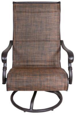 Gather Craft Castle Rock Sling Swivel Rocker Chair