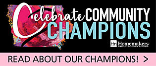 Celebrate Community Champions! Read about our champions!