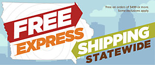 Free Express Shipping Statewide!