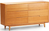 Greenington Currant Solid Bamboo Dresser