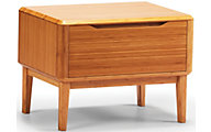 Greenington Currant Solid Bamboo Nightstand