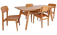 Greenington Currant Table & 4 Chairs
