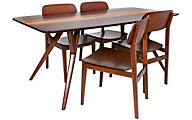 Greenington Azara 5-Piece Bamboo Dining Set