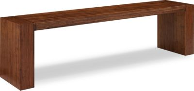 Greenington Nova Aurora Long Bamboo Bench