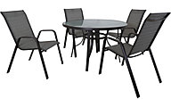 Red Line Creation 5-Piece 45 Inch Outdoor Dining Set