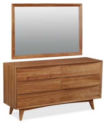 Global Home Group Berkeley Dresser With Mirror