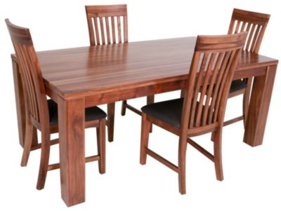 Global Home Group Clifton Table & 4 Side Chairs