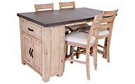 Global Home Group Rockhampton Bar Table & 4 Stools